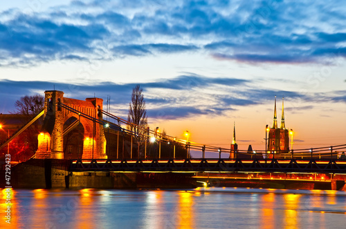 Wroclaw at sunset © pablo777