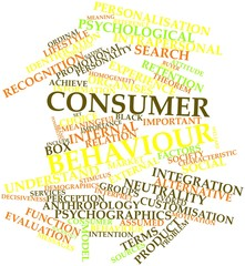 Word cloud for Consumer behaviour