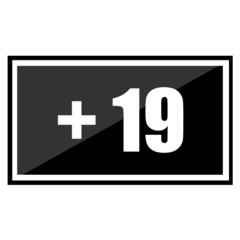 Restriction on age +19