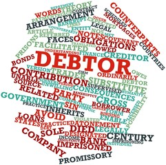 Word cloud for Debtor