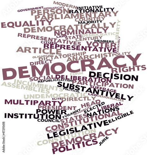Word cloud for Democracy