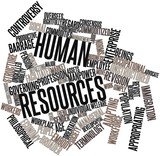 Word cloud for Human resources