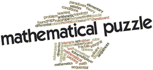 Word cloud for Mathematical puzzle