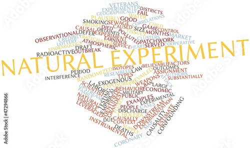 Word cloud for Natural experiment