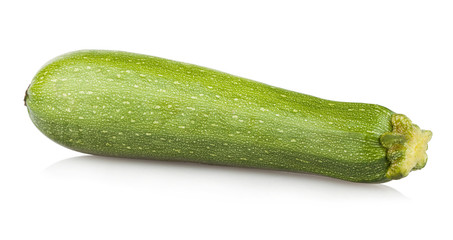 zucchini isolated on white