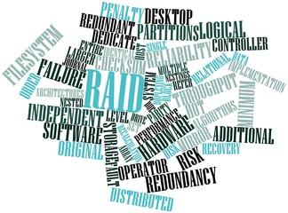 Word cloud for RAID