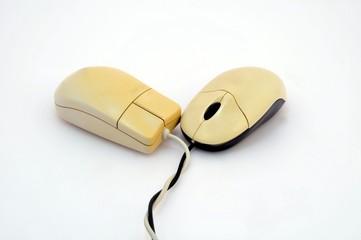 Alte Computer Mäuse
