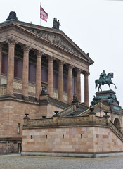 Alte Nationalgalerie on Museumsinsel in Berlin