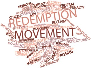 Word cloud for Redemption movement