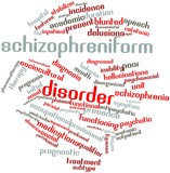 Word cloud for Schizophreniform disorder
