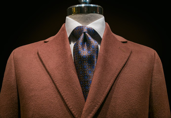 Brown Cashmere Coat (horizontal)