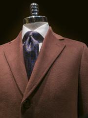 Brown Cashmere Coat (vertical)