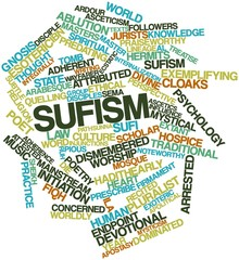 Word cloud for Sufism