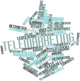 Word cloud for Telemarketing