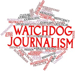Word cloud for Watchdog journalism