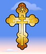 Orthodox Cross Sky