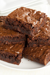Fresh Homemade Chocolate Brownie