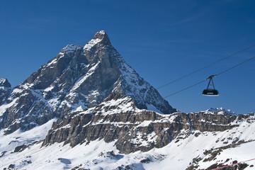 cableway and Matterhorn