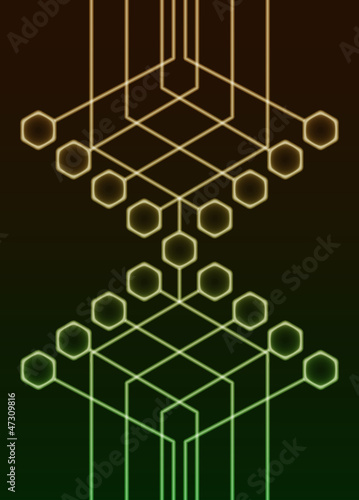 Abstract Circuitry Background