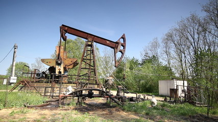 old pumpjack