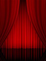 theatre curtain vertical