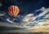 Fototapety balloon, aerostat, mongolfiera