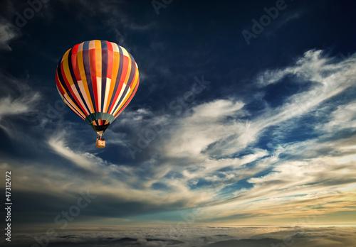 balon, aerostat, mongolfiera