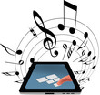 touch screen musica