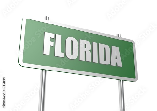 Florida sign board
