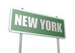 New York sign board