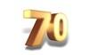 70 Prozent - gold