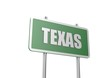 Texas sign board