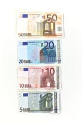 Money, Euros notes
