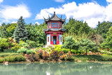 Chinese Temple Garden in Montreal in HDR # 1