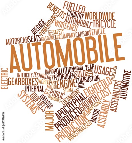 Word cloud for Automobile