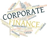 Word cloud for Corporate finance