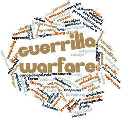 Word cloud for Guerrilla warfare