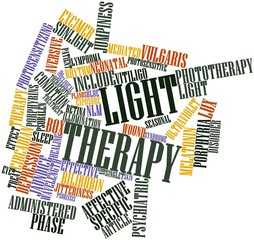 Word cloud for Light therapy