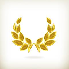 Laurel wreath, award