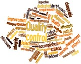 Word cloud for Quality control
