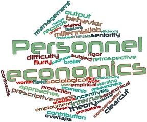 Word cloud for Personnel economics
