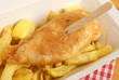 Fish & Chips Takeaway Meal