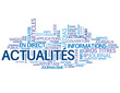 """Nuage de Tags """"ACTUALITES"""" (informations bouton médias direct)"""