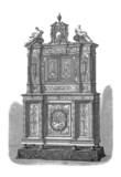 Furniture - Meuble - Möbel - 19th century