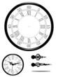 Horloge ancienne à mettre à l'heure