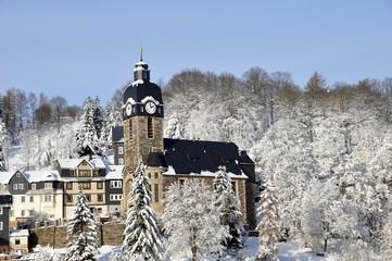Lauschaer Kirche