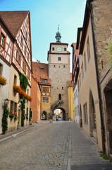 Rothenburg ob der Tauber, Torre 1