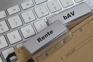 Rente und bAV