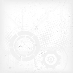 Abstract modern technical background. Vector file.