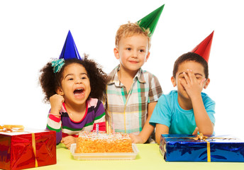 Kids and party